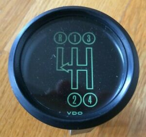 Vintage Vdo Audi Dashboard Shift Gauge