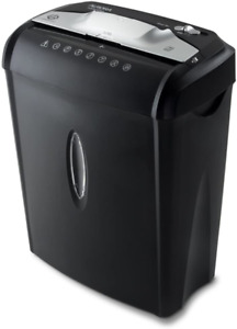 Industrial Heavy Duty Document Shredder Crosscut Paper Credit Card Commercial Us