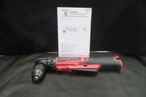 Snap on Cdrr761 14 4 volt 3 8 Microlithium ion right Angle Drill tool Only