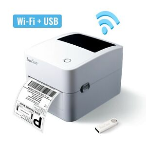 Hudoo Wifi Usb Shipping Label Printer With Windows And Mac