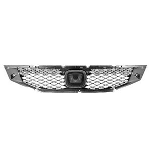 Front Grille Fits 2008 2010 Honda Accord Coupe 104 50488