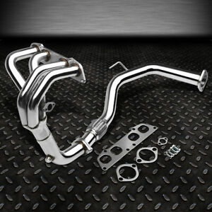 Ss Tubular Exhaust Manifold Header Extractor For 90 95 Mr2 Non Turbo Sw20 5sfe