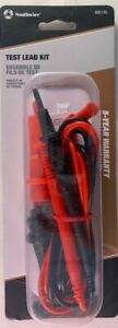 Southwire 60010s 39 Multimeter Voltage Test Leads W Alligator Clips