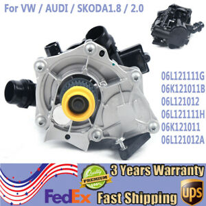 New Thermostat Housing Assembly 06k121011 For 12 18 Vw Beetle Engine Code Culc