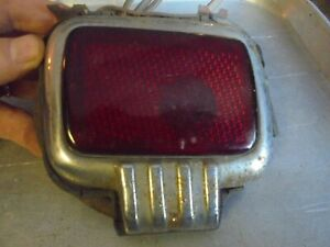 Vintage 1930 S 1940 S Stimsonite Hent Lens Tail Light Assembly Hudson