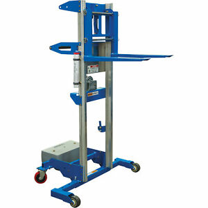Genie Material Manual Lift With Counterweight Base 11ft8in Lift 350 lb Capacity