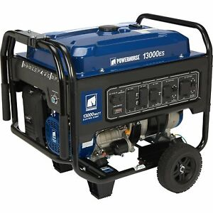 Powerhorse Portable Generator 13k Surge W 10k Rated W Electric Start