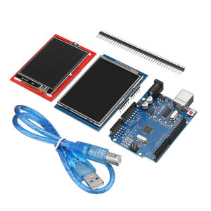 Uno R3 Board 2 2 4 2 8 Tft Lcd Touch Screens Display Module Kit For Arduino