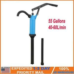 55 Gallons Lever Action Barrel Drum Pump Adjustable Hand Tool Conveying Pumping