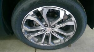 Wheel 19x7 1 2 Opt Pjh Silver With Gray Inlay Fits 18 19 Terrain 2126976