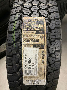 2 New 235 70 16 Goodyear Wrangler All Terrain Adventure With Kevlar Tires