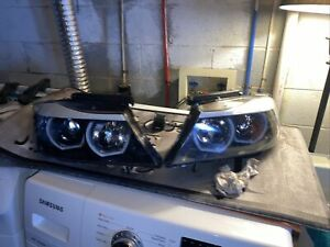 2006 2008 Aftermarket Headlight Assembly Pair For Bmw E90 Left Right