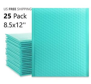 Large Shipping Envelopes Teal Bubble Mailers 8 5x12 Self Sealing Padded Bags