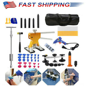 70 X Dent Remover Tool Hail Removal Hammer Set For Diy Auto Body Dent Repair Kit