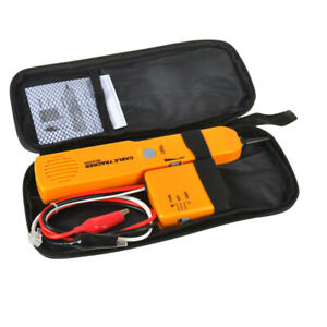 Wire Tone Generator Probe Tracer Network Tracker Line Finder Cable Tester Tool