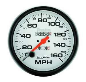Autometer 5in Phantom Speedometer 160mph 5895