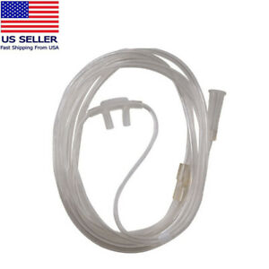 5pcs 2m Disposable Adult Flexible Tip Nasal Oxygen Breath Cannulas hose tube New