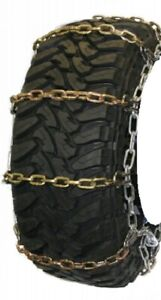 Square Alloy Highway 245 70 19 5 Truck Tire Chains As2228cam