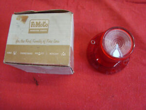 Nos Oem Fomoco 1960 Continental 1962 1963 Comet S 22 Rear Back Up Tail Lamp Lens