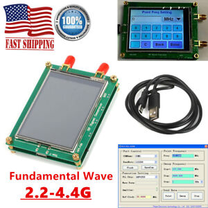 Adf4351 35m 4 4g Rf Signal Generator Pll Sweep Frequency Generator Touch Screen