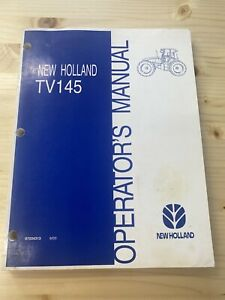 Used New Holland Tv145 Operators Manual Free Shipping