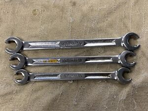 Snap on 1 2 X 9 16 Double End 6pt Flare Nut Wrench rxh1618s Rxh1214s Rxm1012s