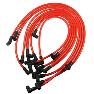 10 5mm Electronic Ignition Hei Spark Plug Wire Set For Chevy Sbc Bbc 350 383 454