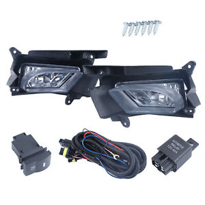 For 2010 11 Mazda 3 Bumper Fog Lights Driving Lamps W Switch Left Right Halogen