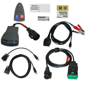 Lexia 3 Pp2000 Full Chip Diagbox V48 v25 Obdii Diagnostic Tool For Peugeot