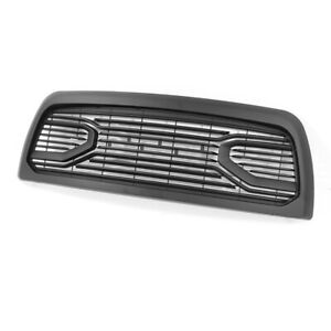 Fit 2010 2018 Dodge Ram 2500 3500 Grille Big Horn Style Black Grille W letters