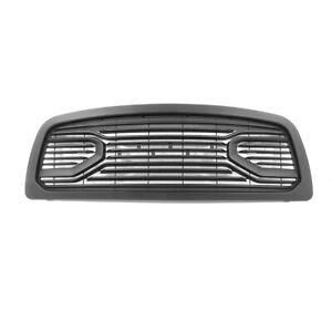 Fit 2009 2012 Dodge Ram 1500 Grille Big Horn Style Front Bumper Grille W letters