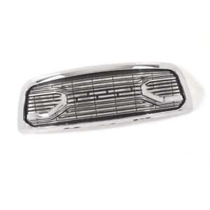 Fit 2009 2012 Dodge Ram 1500 Grille Big Horn Style Front Chrome Grille W letters