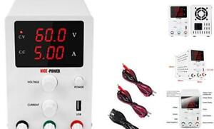Dc Power Supply Variable 3digital Led Display Adjustable Regulated Switching Dc