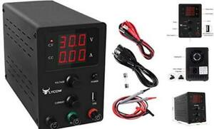 Dc Power Supply Variable Adjustable 30v 10a Switching Dc Regulated Power Suppl