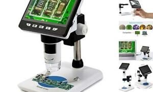 4 3 Inch Lcd Digital Usb Microscope 1080p 50x 1000x Magnification Zoom Handheld