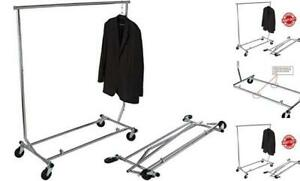 Gr100 Heavy Duty True Commercial Grade Rolling Rack Designed With Solid one P