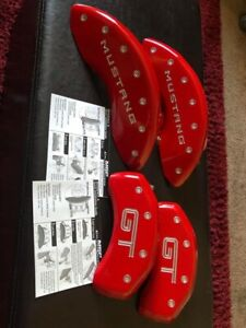2010 2014 Mustang Gt Red Caliper Covees