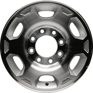 New 17 Alloy Wheel Rim For 2007 2010 Chevy Silverado Gmc Sierra 2500 8 Lug