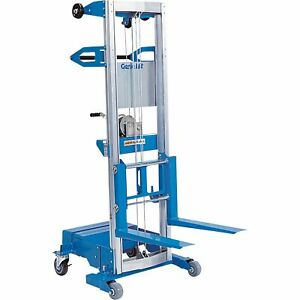 Genie Gl 8 Cwb Lift With Counterweight Base 400lb Capacity