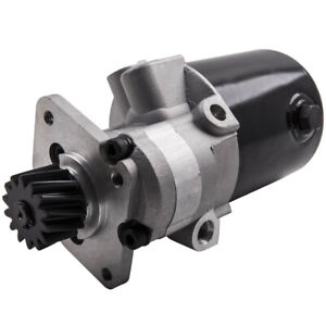 New Power Steering Pump For Mf Tractor 165 175 255 265 275 518637m92 Replaces