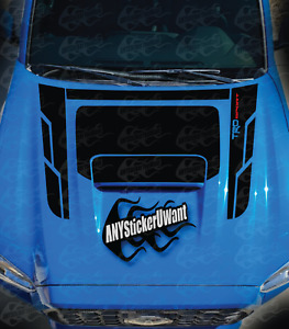 Toyota Tacoma Trd Sport Vinyl Graphic Hood Decal Fits Toyota Tacoma Sport 2016