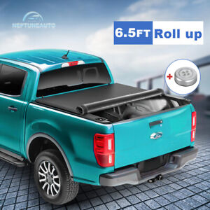 6 5ft Roll Up Tonneau Cover For 2002 2019 20 Dodge Ram 1500 2500 3500 Truck Bed