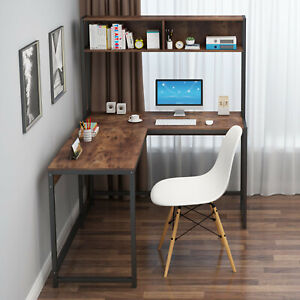 Small Computer Study Student Desk Laptop Table W Drawer Home Office Furniture