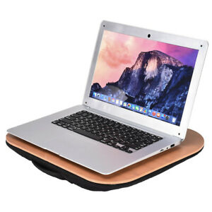 Portable Laptop Desk Memory Foam Lap Desk Supports Laptops Up To15 8 Inches