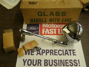 Nos Oem Ford 1949 1950 Mercury Spot Light Lamp Kit 49 Lincoln Cosmopolitan