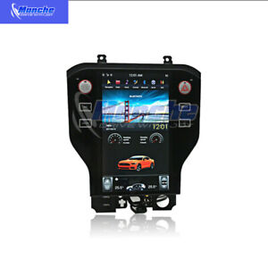 Android 6 0 Tesla Screen 11 8 Car Radio Gps Navi For Ford Mustang 2015 2019