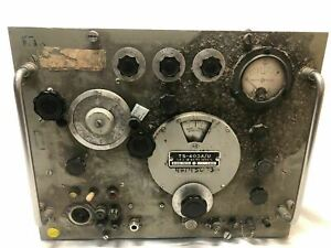 Ts 403a u Signal Generator Navy Army Prop Cool Old Vintage Untested