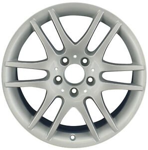 Oem Reconditioned 17x7 5 Alloy Wheel Bright Silver Full Face Painted 560 65486