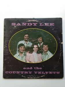 LP Sandy Lee and the Country Velvets 1974 IGL Records STLP 133 $17.90