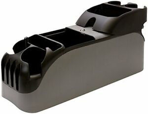 Center Car Console Bin Organizer Truck Cup Holder Minivan Auto Storage Grey New